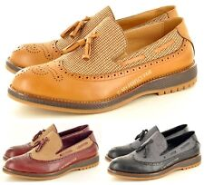 New Men's Smart Casual Dress Fashion Tassel Loafers Slip On Shoes UK Size 7-11