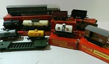 Vintage Boxed Tri-Ang Hornby OO Gauge Observation Car, Shell BP, Murgatroyd Tank
