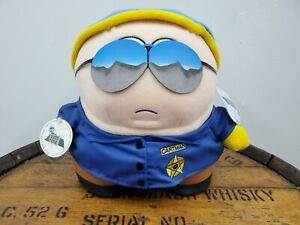 """South Park 1998 Cartman Police Officer 11"""" Limited Edition Plush NEW (R)"""