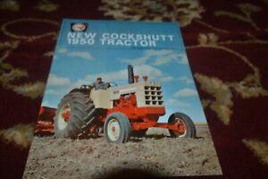 Oliver Cockshutt 1950 Tractor Brochure FCCA