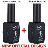 Rabatt! 12ml BASE + TOP Kodi Professional -Gel LED/UV Rubber Nagellack Original