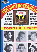 TOWN HALL PARTY - ROCKABILLY DVD - LIVE 1950s - Eddie Cochran, Gene Vincent etc