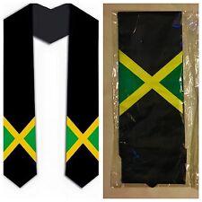 Graduation Stole / Sash - Jamaica Jamaican Flag