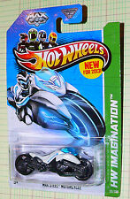 2013 Hot Wheels HW Imagination Max Steel Motorcycle #59/250  gfl