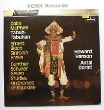 Sri 75116-McPhee-tabuh-tabuhan Hanson Eastman-Rochester Orch-EX LP record