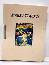 Mars Attacks Reprint Screenplay/Script- 107 pages (M1355)