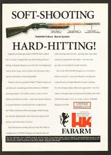 1999 magazine ad 710 for Heckler & Koch's Fabarm Tri-Bore Barrel System