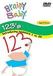 Brainy Baby 123s Numbers Counting 1-20 DVD & Cheerful Baby CD NEW & SEALED