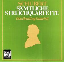 5 LP - Box @ Das Heutling Quartett @ Schubert Sämtliche Steichquartette @ mint -