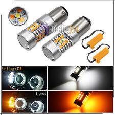 2X High Power 1157 Dual Color Switchback Samsung Led Turn Signal Light Bulbs