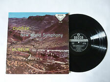 DVORAK ~ NEW WORLD SYMPHONY ~ SXL 2005 ~ EX/EX ~ 1958 UK DECCA WIDEBAND VINYL LP