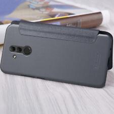 Huawei mate 20 Lite funda con tapa Flip negra Nillkin modelo Sparkle Case
