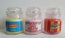 Swizzels Candles Love Hearts Sweet Scented Candle Set of 3