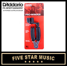 PLANET WAVES DP0002 PRO WINDER GUITAR STRING / PEG WINDER TOOL - NEW DADDARIO