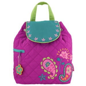 Stephen Joseph Kids' Unisex Toddler Back to School Quilted Backpack, Paisley