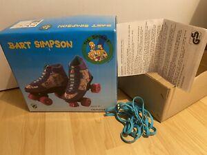 Simpsons vintage roller skates, 32/33, 1992