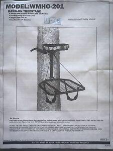 "NEW AMERISTEP WMHO-201 ""HANG ON"" DEER HUNTING TREE STAND JH-2013"