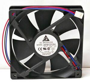 Cooling Fan 120x120x25mm Delta Electronics AFB1212H Lock-Rotor SensorMed Speed