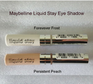 Maybelline Liquid Stay Eye Shadow Forever Frost/Persistent Peach Long Lasting