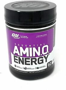 Optimum Nutrition Essential Amino Energy Grape 1.23 LB 62 Servings