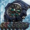 SKMEI Army Military Waterproof Sport Men's LED Quartz Analog Digital Wrist Watch