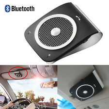 Wireless Bluetooth Car Kit Handsfree Speaker Phone Visor Clip For iPhone Samsung