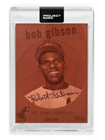 Topps Project 2020 #163 Bob Gibson by Don C Card w/ Box Cardinals
