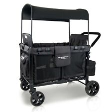 Wonderfold W4 Multi-Function Folding Quad Stroller Wagon - Four Passenger Seats