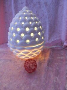 PartyLite Elektrische Duftlampe Kiefernzapfen  P93329E NEU