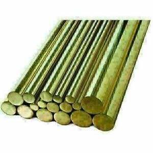 Messing Stange 1.5-42mm Rundmaterial 2.0401 Ms58 Rundstab CuZn39Pb3 <2 Meter