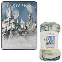 "Harry Potter Witchcraft & Wizardry Super Plush Silky Soft Throw Blanket 46""x60"""