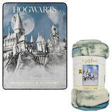 "Harry Potter Witchcraft & Wizardry Super Plush Silky Soft Throw Blanket 46""x60"""