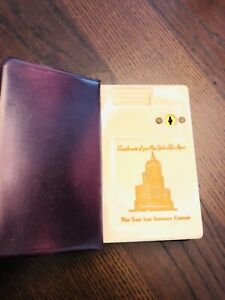 New York Life Insurance Company Coin Book Bank/ Vintage, NO KEY