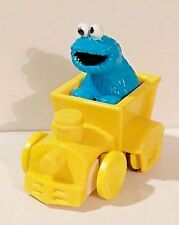 Illco Sesame Street Train Engine Plastic Cookie Monster Thailand