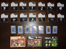 Bethesda Fallout Pins - Vault Boy of The Month (VBOTM) & Loot Crate Gold, RARE!