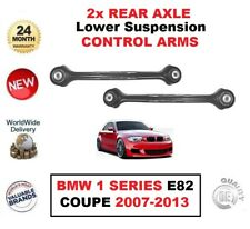 2x REAR AXLE LEFT+RIGHT Lower CONTROL ARMS for BMW 1 SERIES E82 Coupe 2007-2013