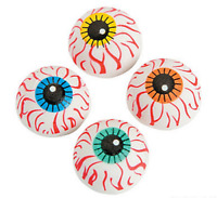 Pack of 12 - Halloween Eyeball Erasers Rubbers - Party Loot Bag Fillers