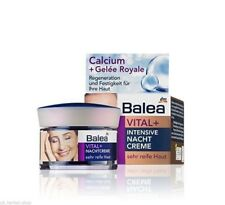 Balea Vital+ Intensive Night Cream with Royal Jelly- 50 ML.For Very Mature skin