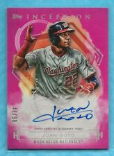 JUAN SOTO 2019 Topps Inception Rookie and Emerging Stars Autographs Magenta /99