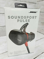 Bose SoundSport Pulse Neckband Wireless Bluetooth Headphones - Black/Red