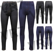WOMENS HIGH WAISTED SKINNY JEANS JEGGINGS LADIES Slim STRETCHY PANTs 6-26