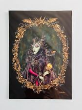 """Disney Wonderground Maleficent """"Couture de Force"""" by John Coulter Postcard"""