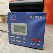 Sony MD Walkman MiniDisc Digital Recording Model MZ-R90 w/ Battery Pack