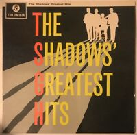 THE SHADOWS GREATEST HITS LP COLUMBIA EMI 2 BOX UK EX+