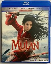 DISNEY MULAN LIVE ACTION BLU RAY DVD 2 DISC SET MULTI SCREEN EDITION BUY IT NOW
