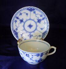 Royal Copenhagen Cup & Saucer- Blue Fluted
