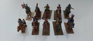 10 English Civil War 30 mm Mounted Cavalry Painted metal Wargame Soldiers