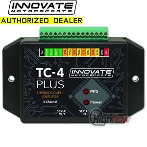 GENUINE Innovate 3915 TC-4 PLUS Thermocouple Amplifier for MTS 4-Channel (3784)