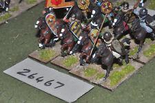 25mm medieval / moorish - heavy 8 figures - cav (26467)