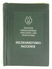 Dt. Handelszentrale Holzbearbeitungsmaschinen 1953